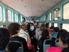 Na vlaku v Indiji