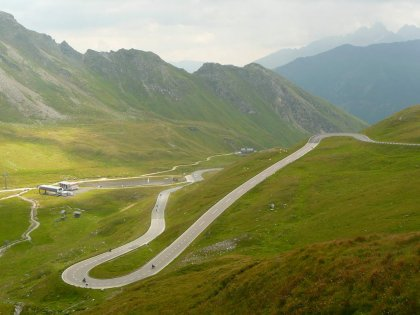 Panoramska alpska cesta Grossglockner