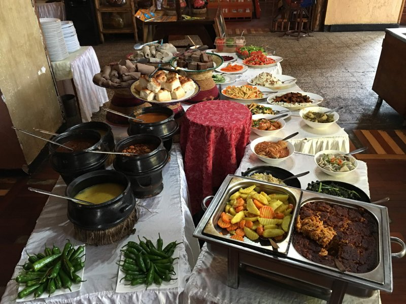 Veganska pojedina v Addis Abebi