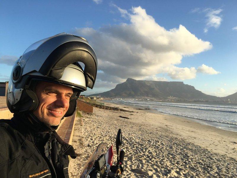 šele slovo od Cape Towna je pomenilo začetek afriške avanture