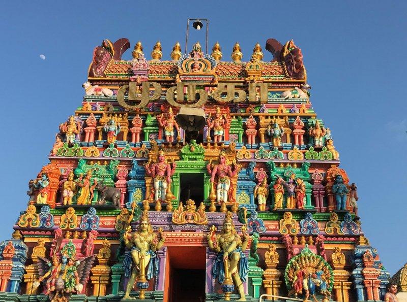Pisani indijski tempelj, Chennai