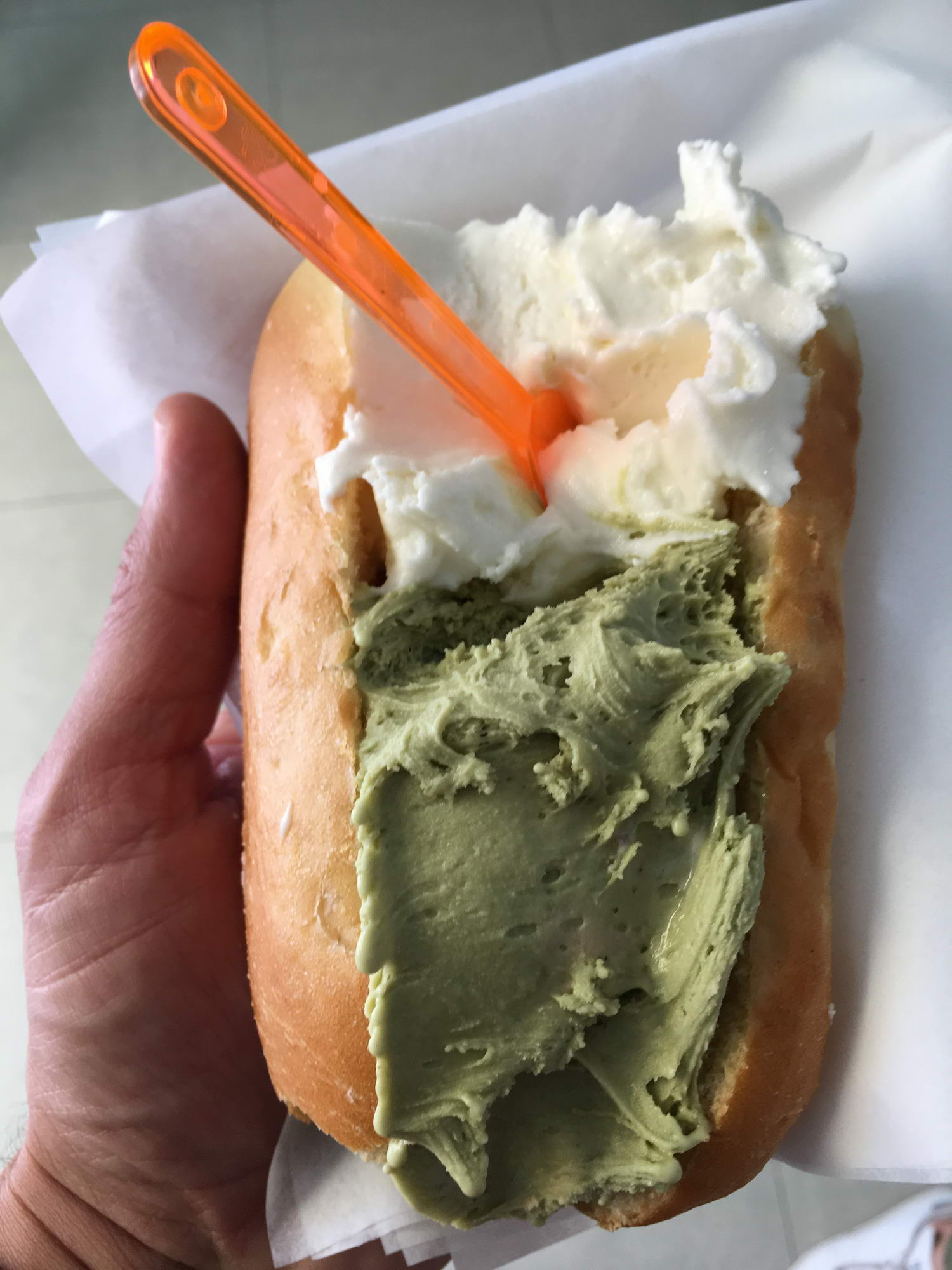 sladoled, Sicilija