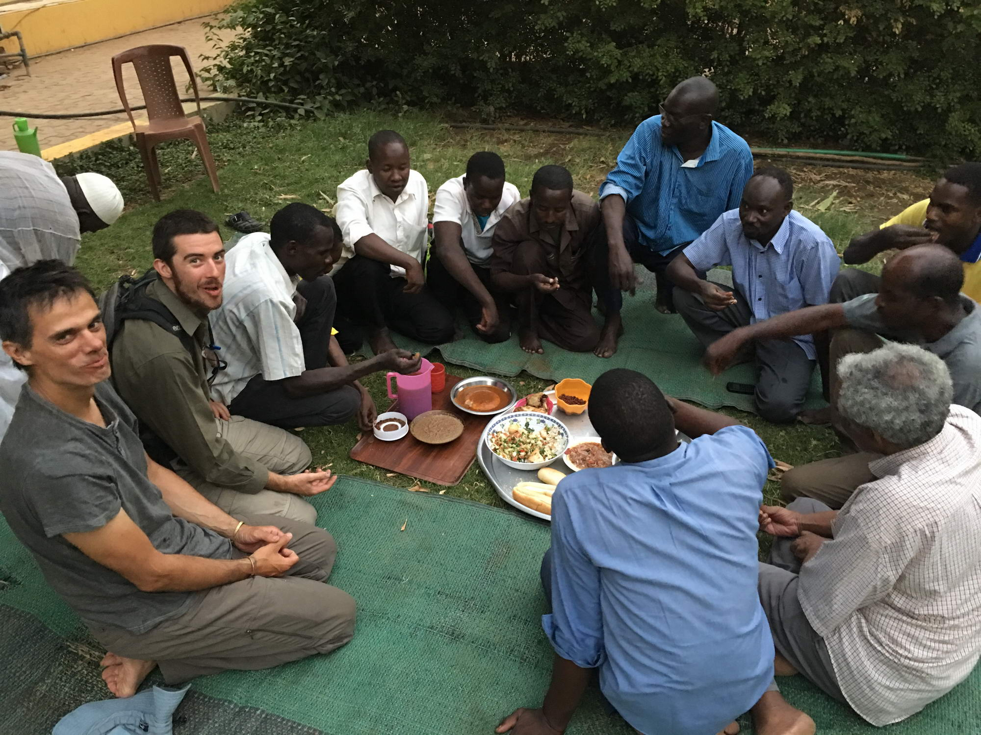 večerja v Sudanu