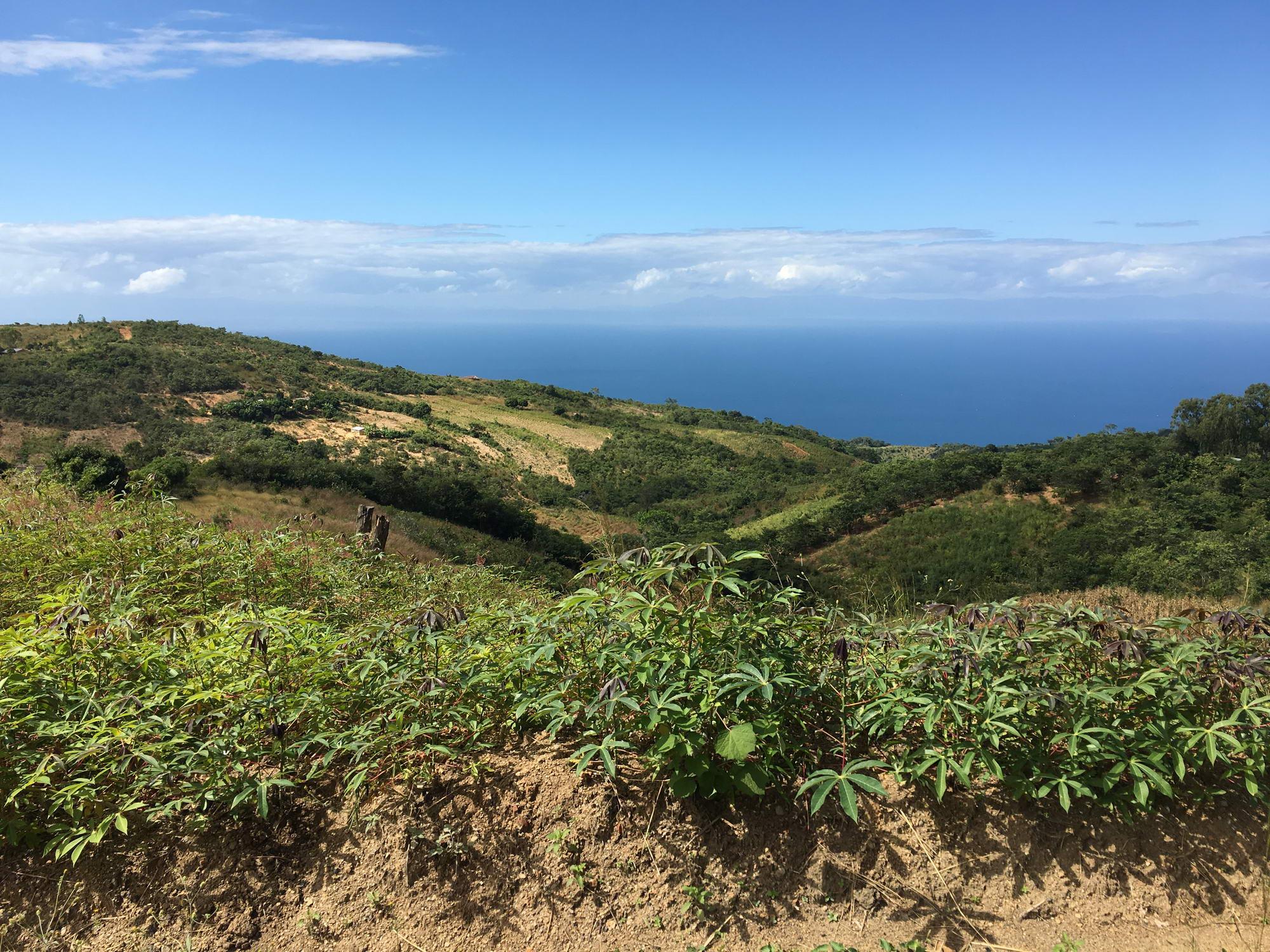 razgled na malavijsko jezero iz višav