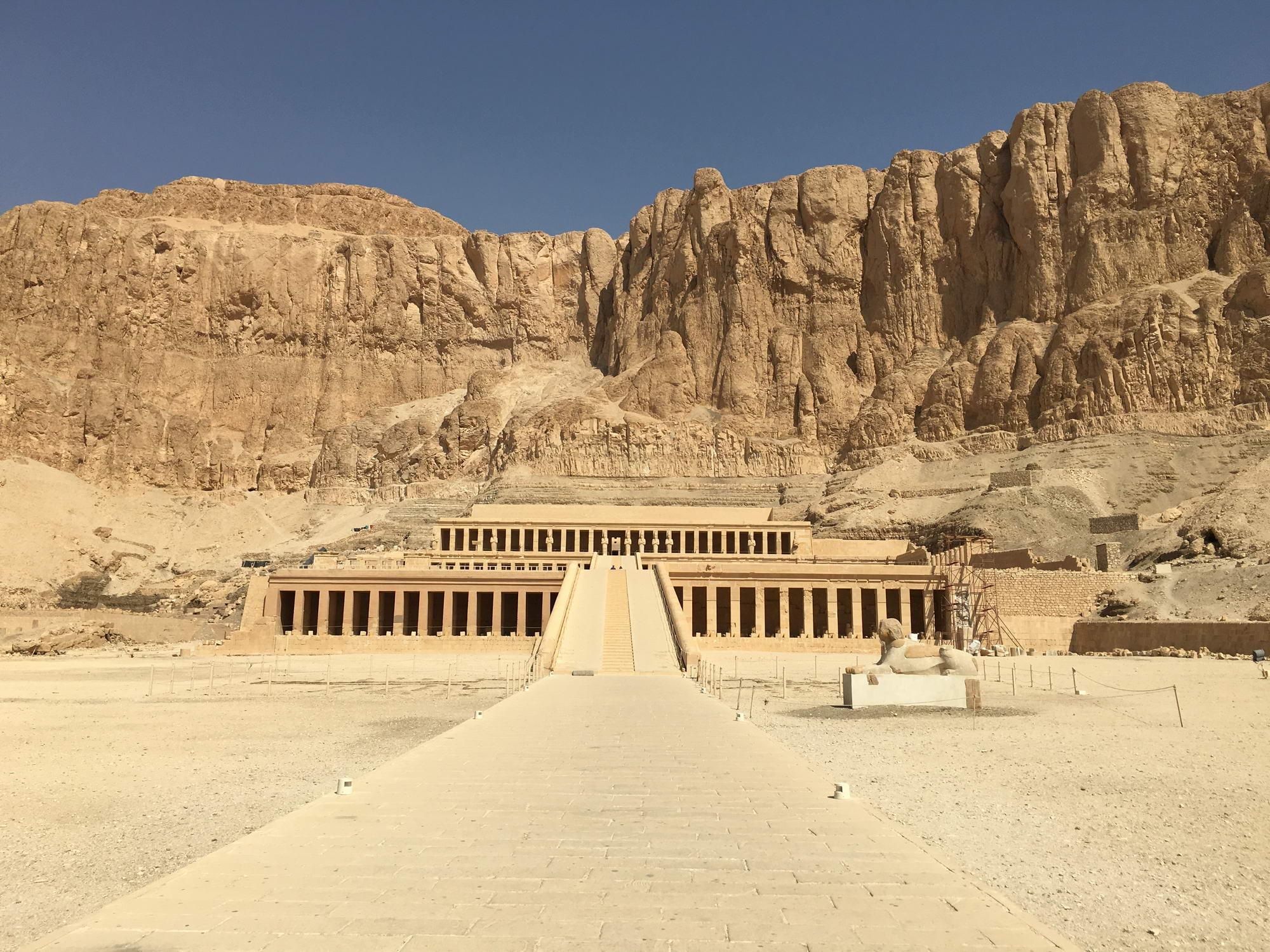 Deir el-Bahari, Egipt