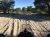preglobok pesek za pretežek motor