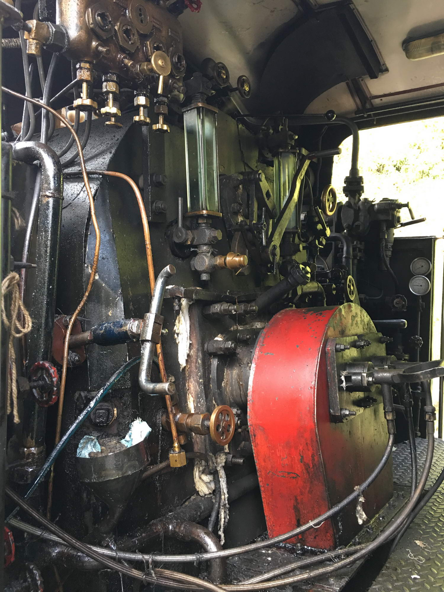 Prastara, a delujoča lokomotiva