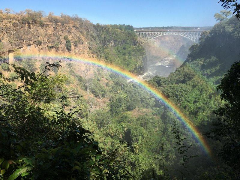Viktorijini slapovi v mavricah