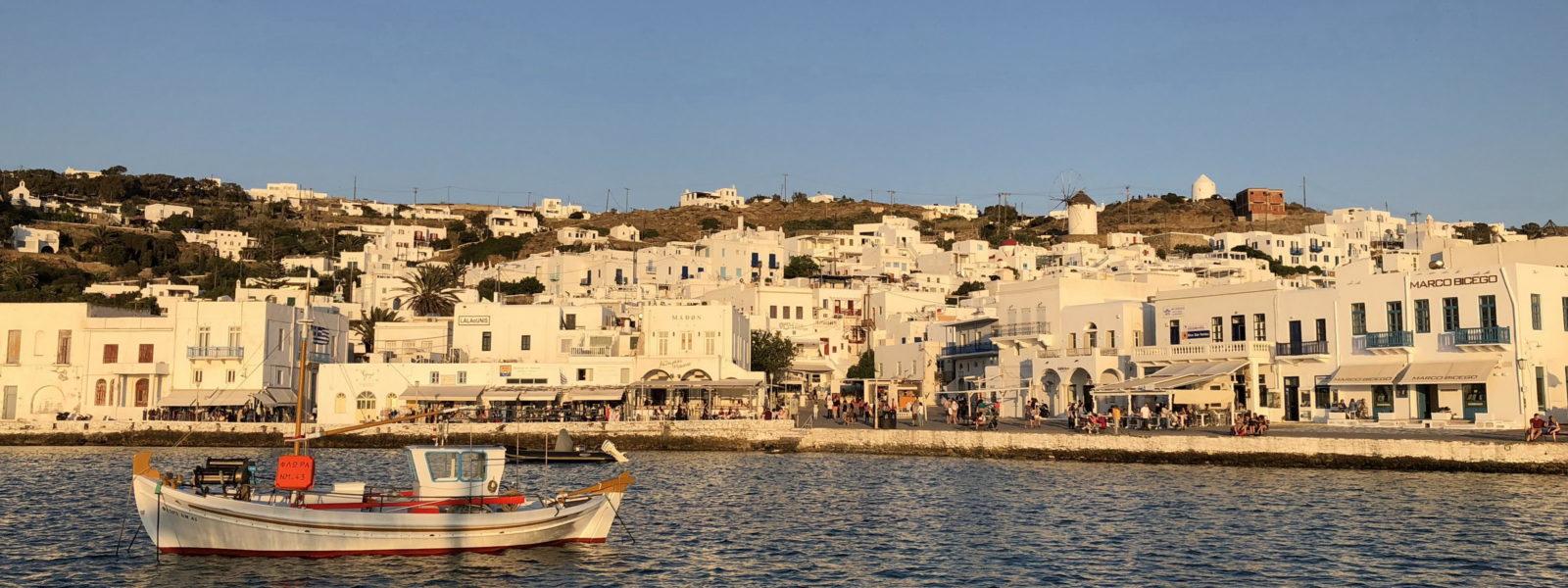 Otok Mikonos je raj